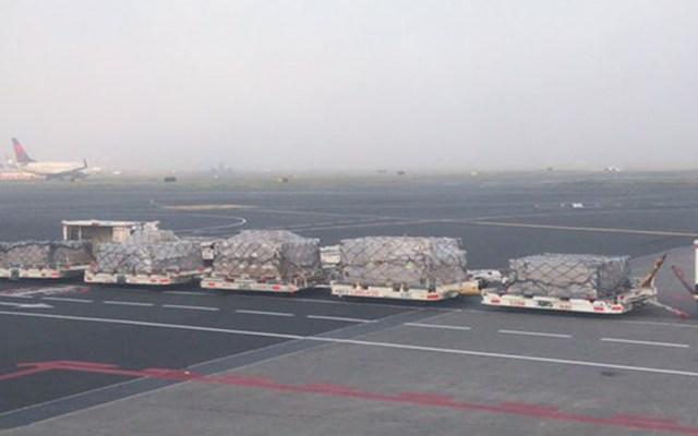 AICM restablece operaciones tras mal clima; algunos vuelos sufrirán cambios - Foto de @jclaudioramirez