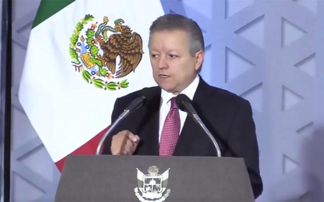 Arturo Zaldívar llama a los poderes judiciales a ejercer la autocrítica - Arturo Zaldívar Lelo de Larrea. Captura de pantalla