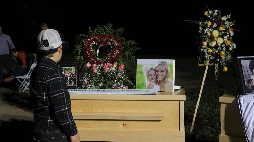 Claudia Pavlovich solicita colaboración del FBI en caso LeBarón - Ataque LeBarón Sonora funeral FBI