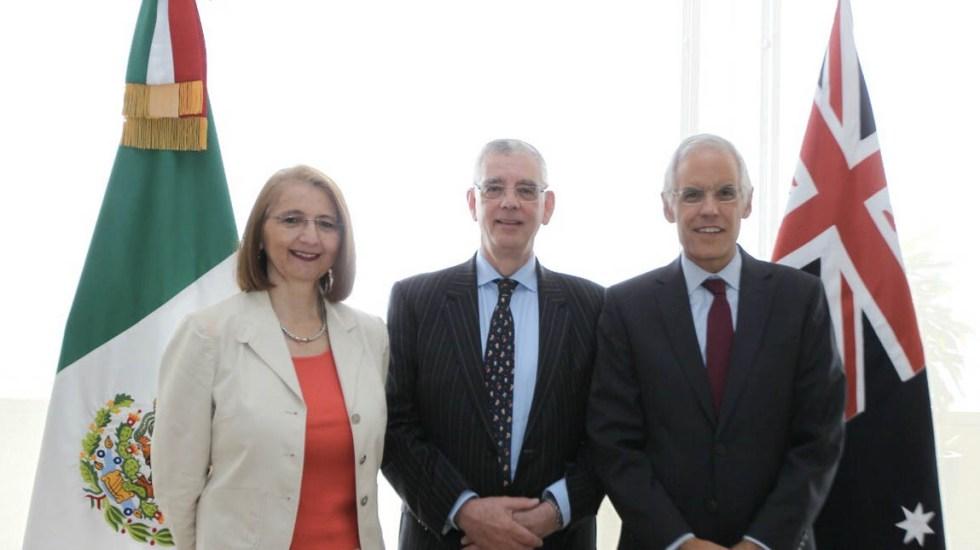 México y Australia acuerdan fortalecer relación bilateral - Australia México relación bilateral reunión