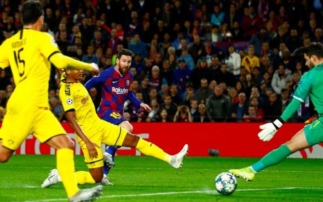 Barcelona vence al Dortmund y ya está en octavos de la Champions - Barcelona vence al Dortmund