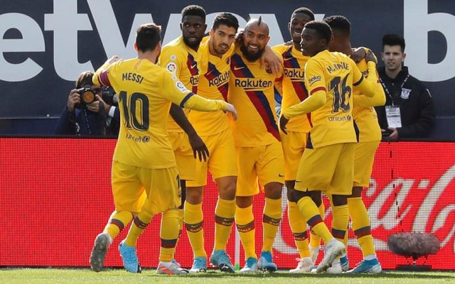 Barcelona gana al Leganés y sigue líder en La Liga - El Barcelona gana al Leganés en Butarque