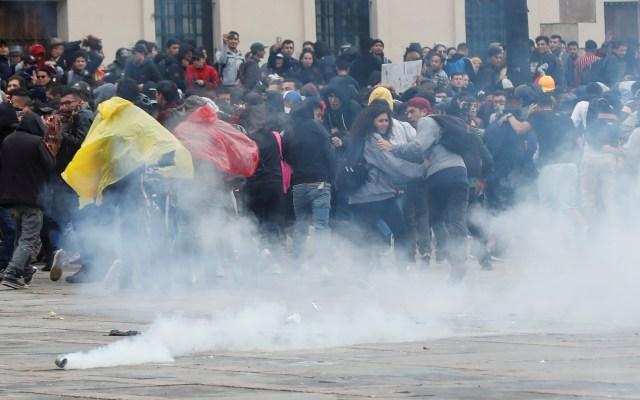 Inédito toque de queda en Bogotá por ola de vandalismo y violencia - Foto de EFE