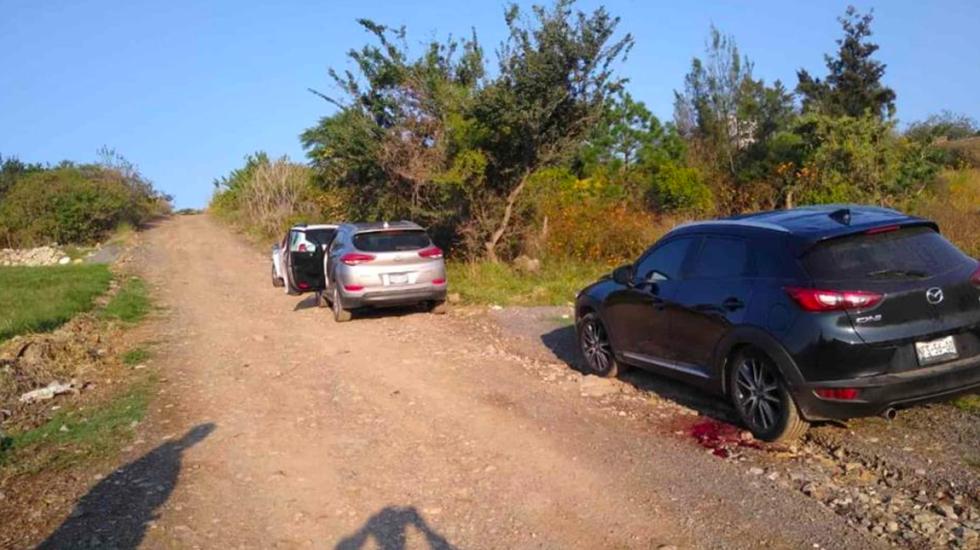 Encuentran tres camionetas con siete personas muertas en Tonalá, Jalisco - Cuerpos abandonados en Tonalá