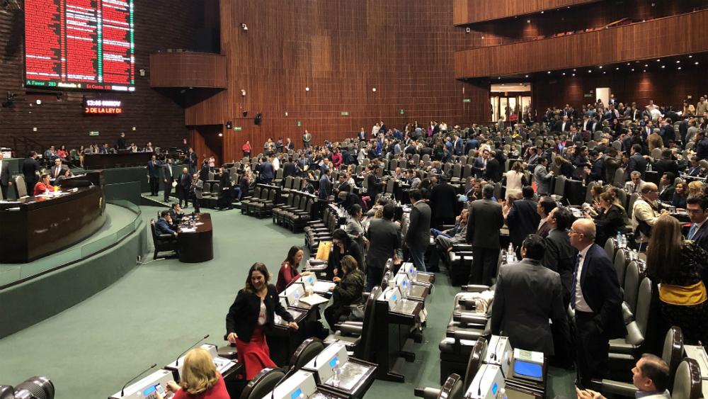Diputados aplazan votación de reserva en Ley de Instituciones de Crédito - Camara de Diputados partidos