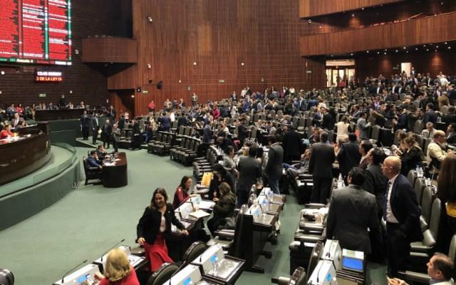 AMLO lamenta rechazo de diputados para reducir financiamiento a partidos - Camara de Diputados partidos