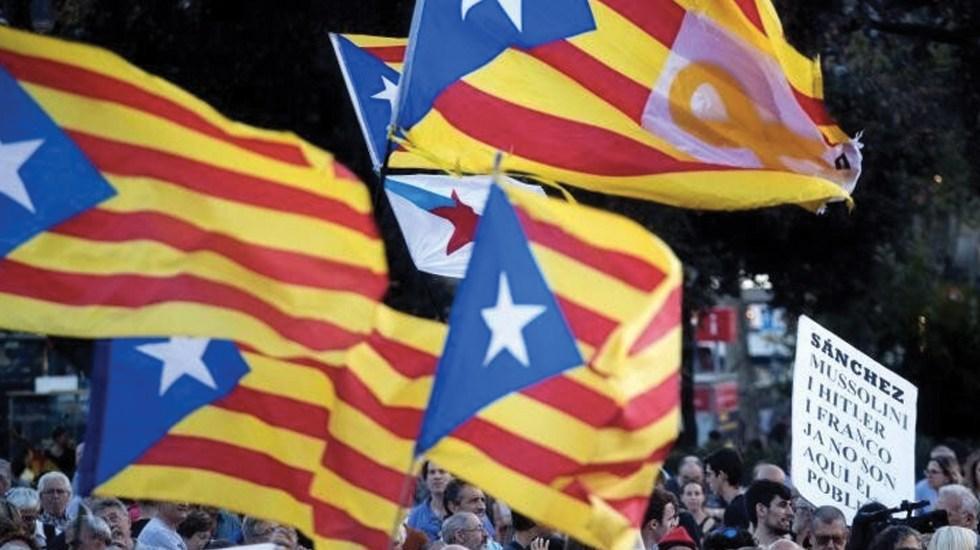 Suspenden instalación de representación de Cataluña en México - Foto de EFE