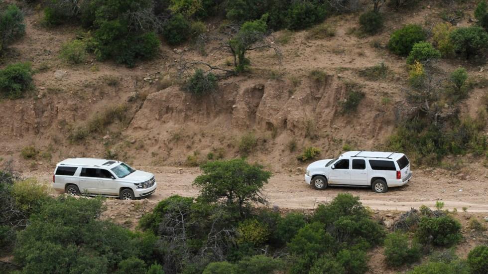 Llegan a La Mora restos de víctimas de ataque contra familia LeBarón - Chihuahua inseguridad policías Sonora familia LeBarón 2