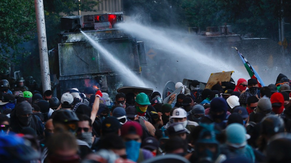 CIDH condena uso excesivo de la fuerza durante protestas en Chile - Protestas en Chile
