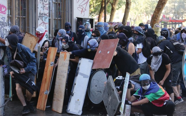 Chile rechaza informe de Amnistía Internacional sobre represión - Foto de EFE