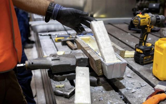 Decomisan en Australia 233 kilos de cocaína procedente de México - Cocaína australia incautada lingotes