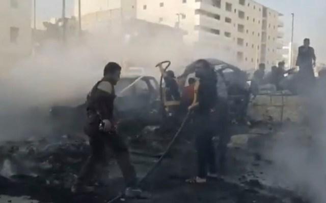 Explosión de coche bomba deja al menos 19 muertos en Siria - Explosión de coche bomba deja al menos 19 muertos en Siria
