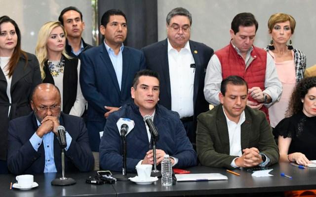 Lo que resulte del Presupuesto será culpa de Morena, advierte el PRI - Conferencia del PRI sobre el Presupuesto de Egresos 2020. Foto de @alitomorenoc