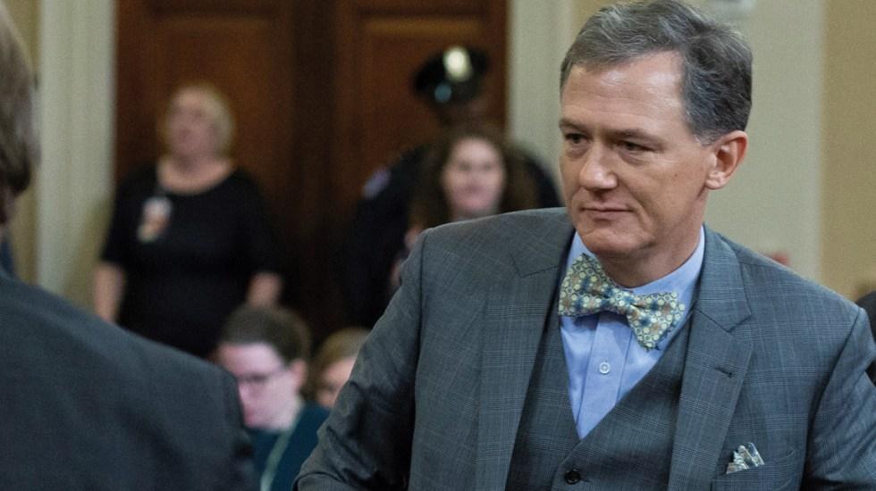 La corbata que se robó la atención en investigación contra Donald Trump - Foto de EFE