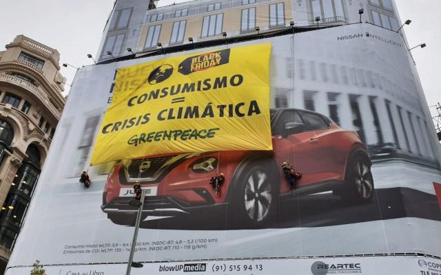 Consumo masivo agrava crisis climática: Greenpeace - Foto de EFE