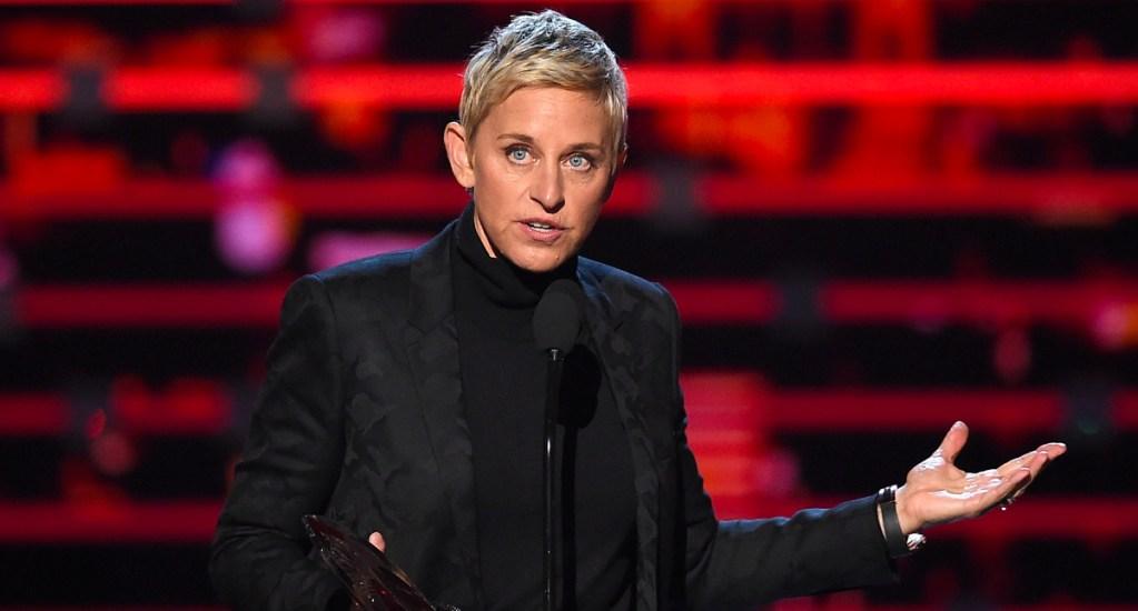 Reconocerán a DeGeneres con premio honorífico en los Globos de Oro - Ellen DeGeneres