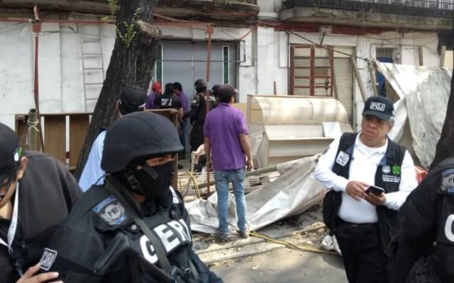 PGJ capitalina recupera inmueble invadido en la colonia Doctores - Foto de Foro TV