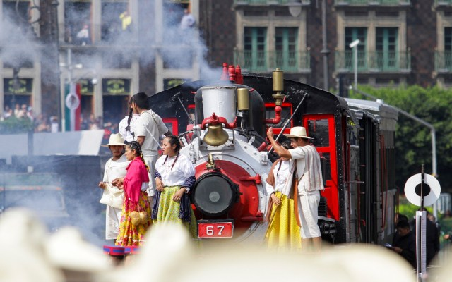 Desfile Militar Conmemorativo por el 109 Aniversario de la Revolución Mexicana - Foto de Notimex-Guillermo Granados.
