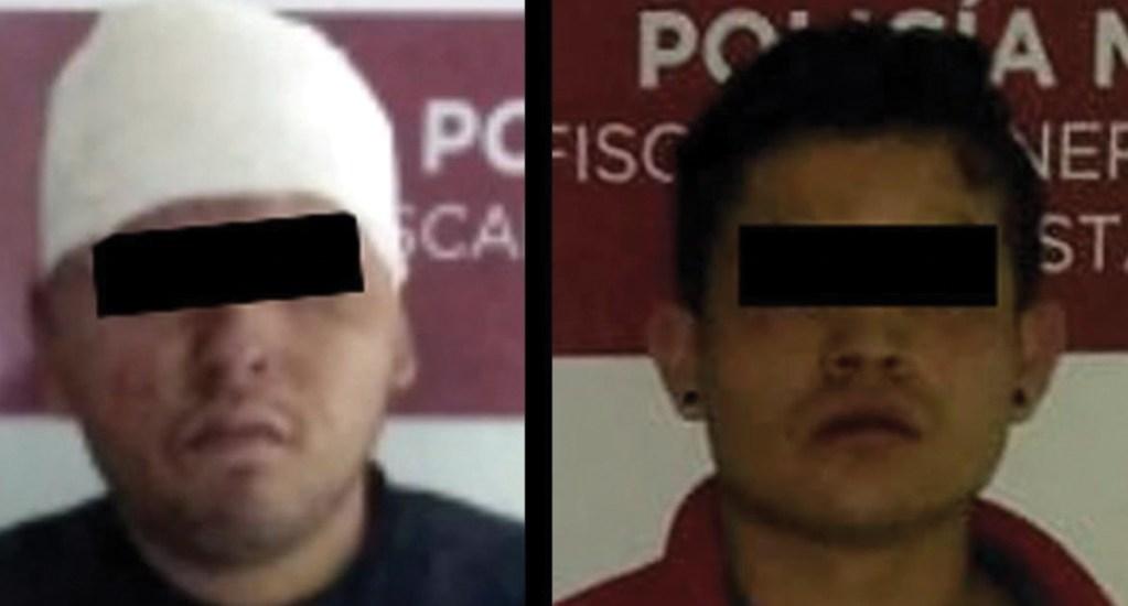 Evitan linchamiento de dos presuntos ladrones en Coacalco - Foto de @SS_Edomex