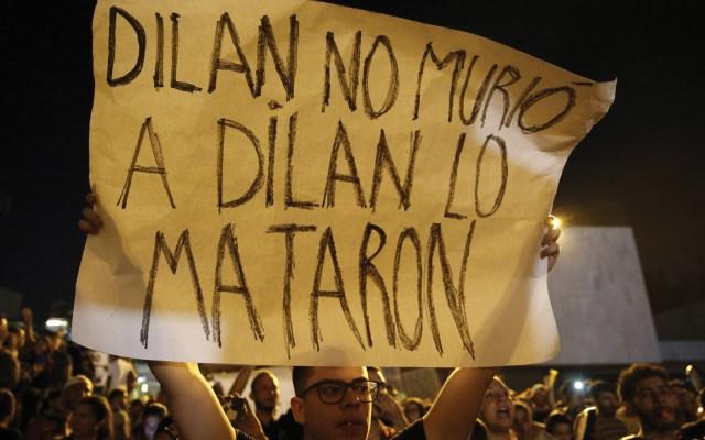El estudiante colombiano Dilan Cruz murió por disparo de escopeta con perdigones, confirma forense - Foto de EFE