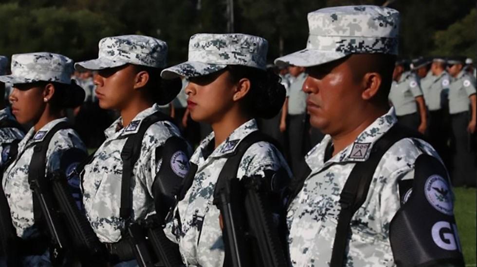 Descarta Sheinbaum militarización de la CDMX por presencia de la GN y fuerzas armadas - Elementos de la Guardia Nacional. Foto de Gobierno de México