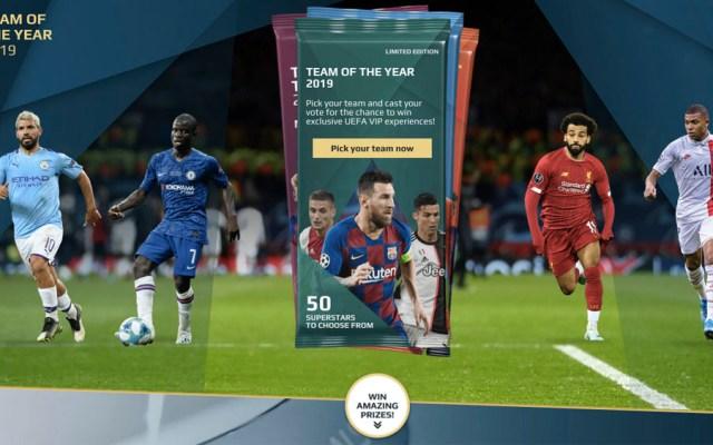 UEFA anuncia a candidatos para el Equipo del Año 2019 - equipo del año uefa