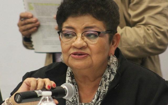 Ernestina Godoy buscará titularidad de la Fiscalía de Ciudad de México - Ernestina Godoy. Foto de @SeMujeresCDMX