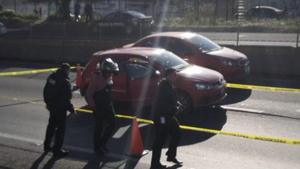 Matan a escolta de tráiler en la Chamapa-Lechería. Noticias en tiempo real