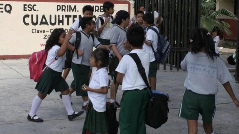 Modificarán horarios en escuelas de Morelos por bajas temperaturas - Foto de @GobiernoMorelos