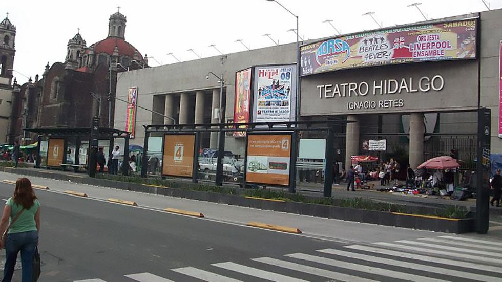 Metrobús Línea 4 implementa parada provisional en Bellas Artes - Estación Bellas Artes del Metrobús Línea 4. Foto de metrobus.cdmx.gob.mx