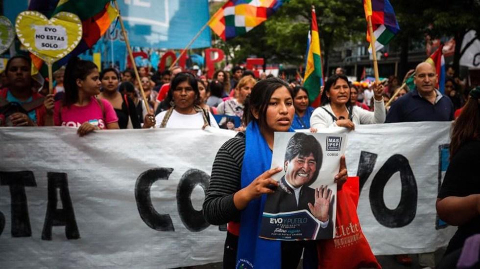 """Morena respalda postura de AMLO por """"golpe de Estado contra Evo Morales"""" - evo morales bolivia"""