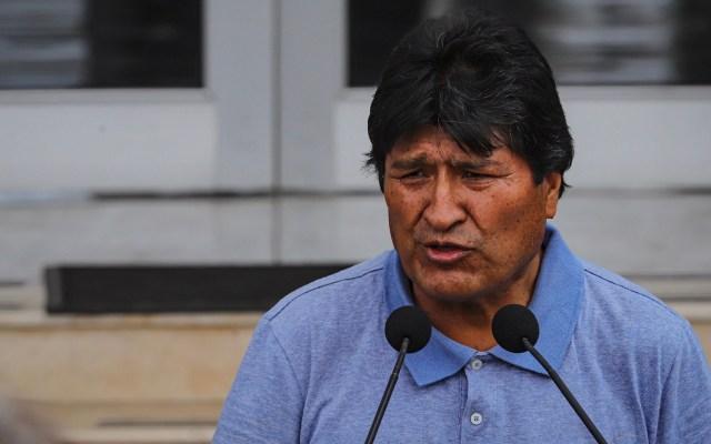 AMLO niega tener información sobre audios de Evo Morales; acusa intolerancia - Evo Morales Ayma. Foto de Notimex