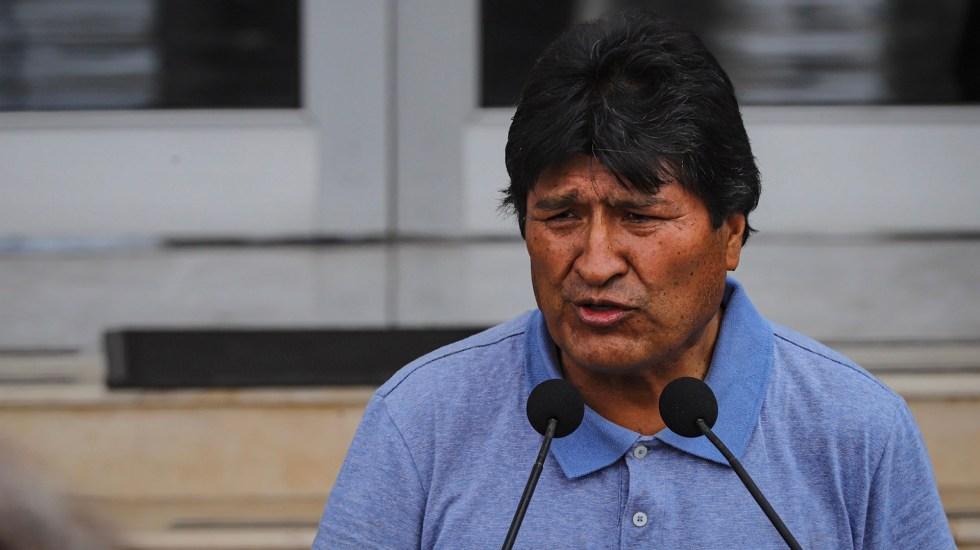 Declararán a Evo Morales huésped distinguido de la Ciudad de México - Evo Morales Ayma. Foto de Notimex