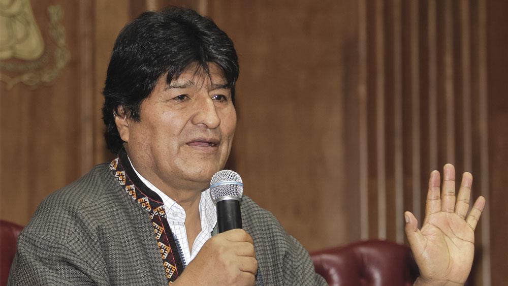 Evo Morales denuncia persecución de Interpol por cargos de terrorismo - Evo Morales