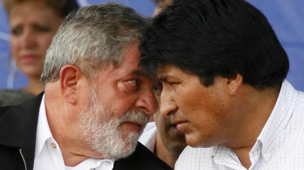 Evo Morales se equivocó al lanzarse a una tercera reelección: Lula da Silva - Lula da Silva y Evo Morales