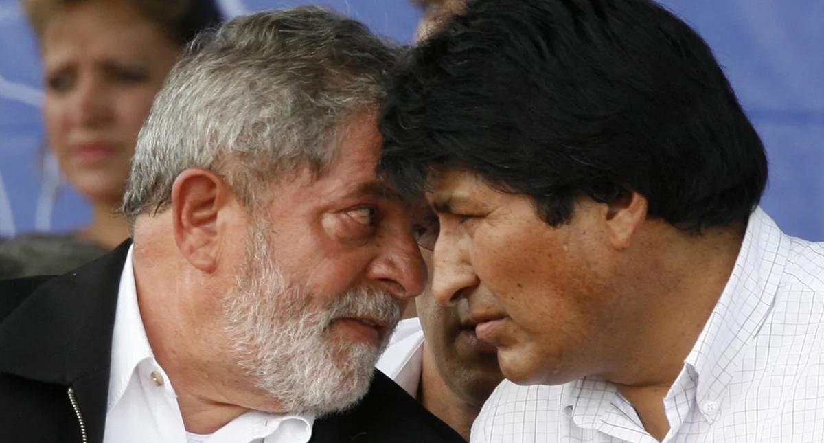 Lula da Silva y Evo Morales