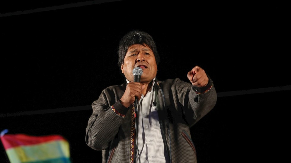 Avión que transporta a Evo Morales aterriza en Asunción - Evo Morales, presidente de Bolivia. Foto de Archivo EFE.