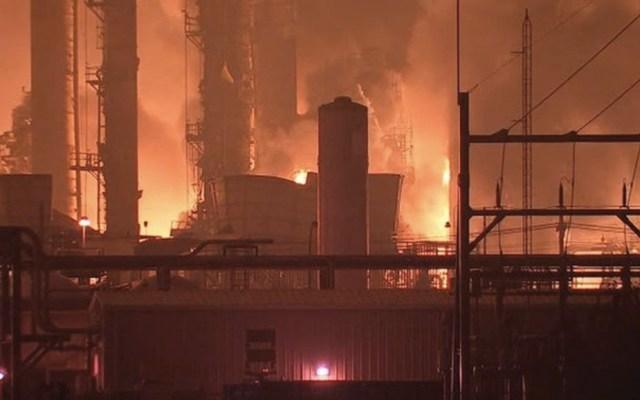 #Video Explota planta de productos químicos en Texas - Foto de Twitter