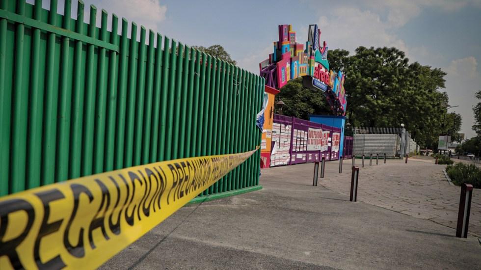 #Video Así luce la Feria de Chapultepec a 9 meses de suspensión de actividades - Vista de la Feria de Chapultepec tras su suspensión de actividades. Foto de Notimex