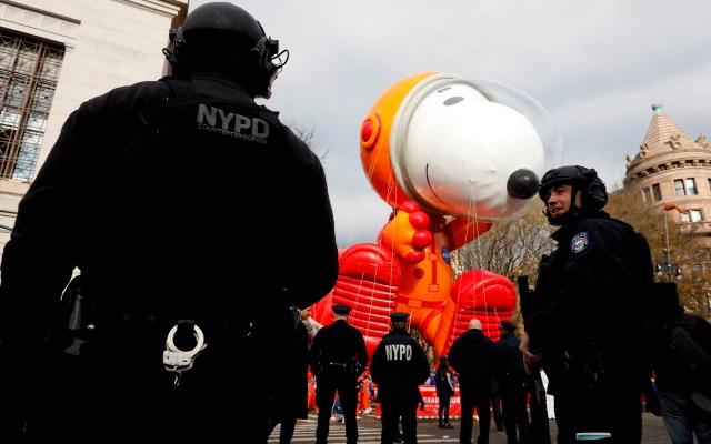 #FOTOS Así se vivió el tradicional desfile de Acción de Gracias en Nueva York - Festival Macy's en Nueva York. Foto de EFE.
