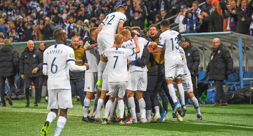 Suecia y Finlandia consiguen su boleto para la Euro 2020 - Finlandia logra su clasificación a la Euro 2020