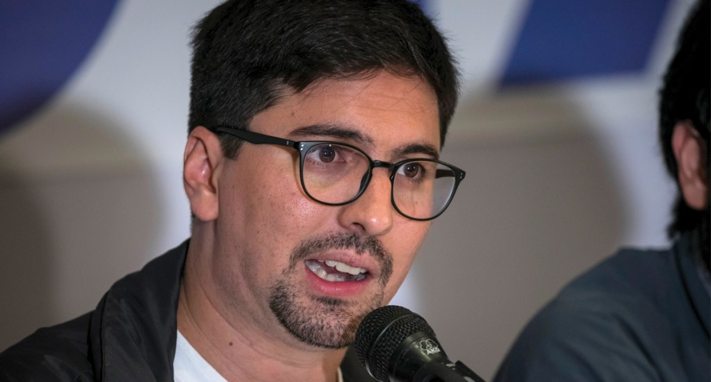 Opositor cumple dos años refugiado en embajada de Chile en Caracas - Foto de EFE