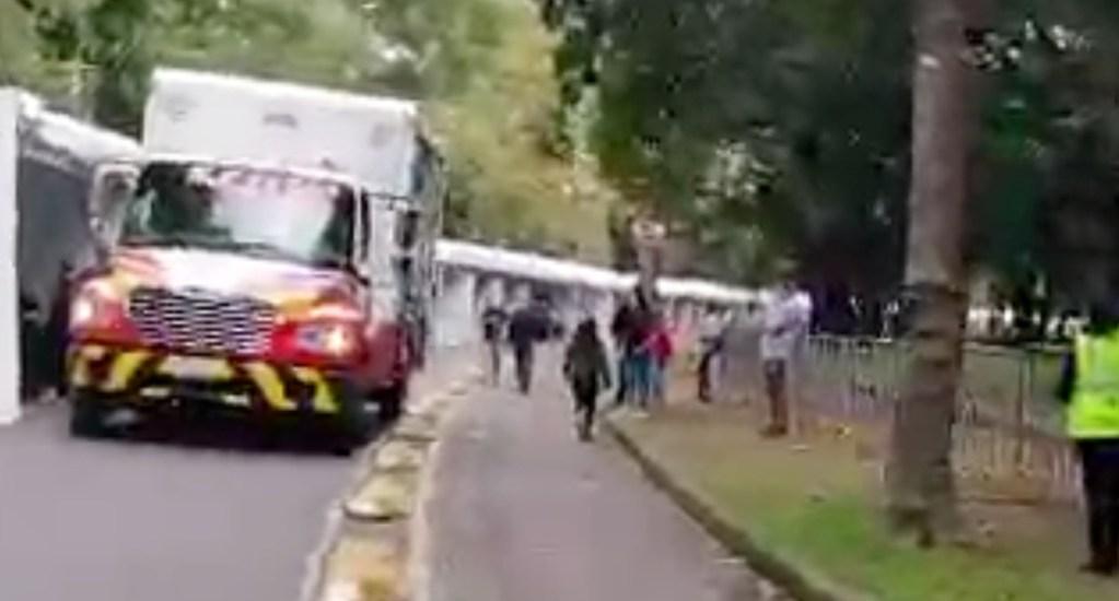 #Video Bloquean ciclovía en Gandhi y causan caos en Polanco - Circuito Gandhi