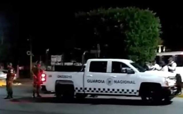 Guardia Nacional sufre ataque armado en Guanajuato; hay 3 heridos - Guardia Nacional atacada en Guanajuato. Foto de Milenio