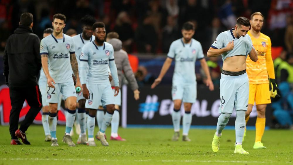 Atlético de Héctor Herrera sufre primera derrota en Champions - Foto de EFE