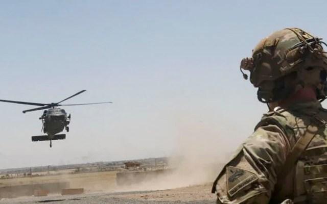 Mueren dos militares de EE.UU. tras estrellarse helicóptero en Afganistán - Mueren dos militares de EE.UU. tras estrellarse helicóptero en Afganistán