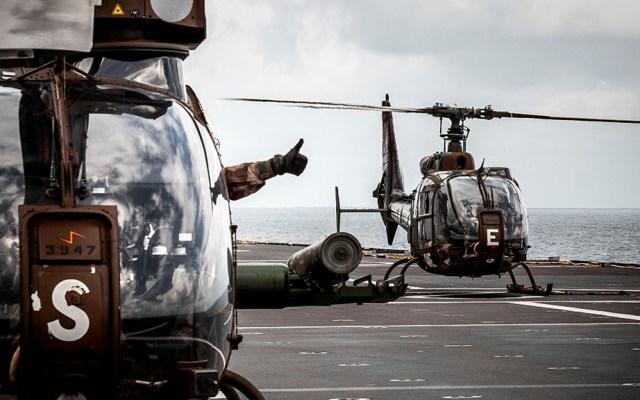 Mueren 13 militares franceses en Mali durante operación contra yihadistas - Helicópteros del Ministerio de Defensa de Francia. Foto de @ministeredesarmees