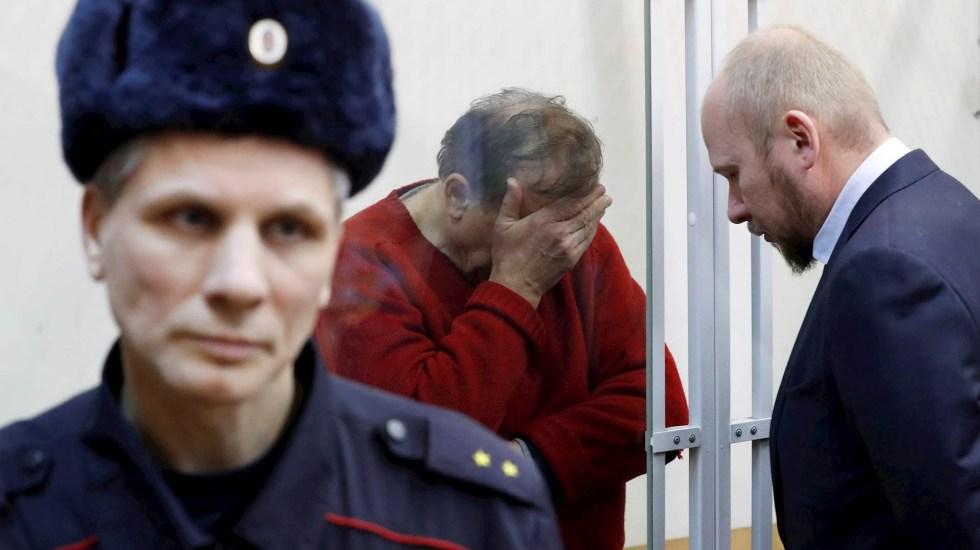 Dan prisión preventiva a historiador que descuartizó a ex alumna - Historiador Ruso asesinato Rusia Oleg Sokolov