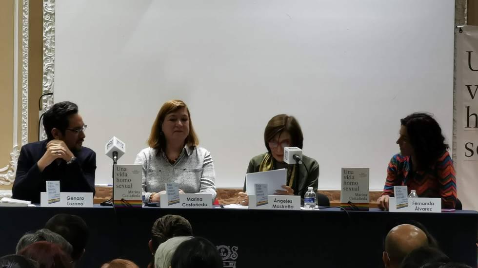 Presentan el libro 'Una vida homosexual' - Foto de Carlos Tomasini.