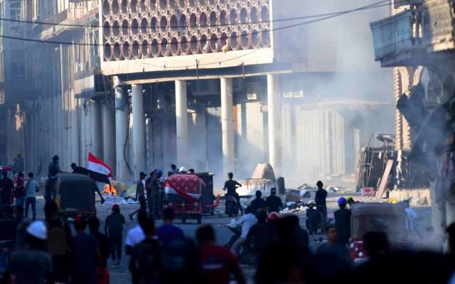 Violencia en calles de Irak deja 269 muertos y ocho mil heridos en un mes - Irak violencia en las calles